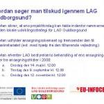 Kontorfællesskabskontrakt, LAG-frister, deltagerliste og blog-råd -materiale fra Træf 26.3.2008