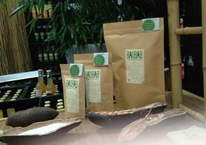 Der var ikke meget it over baobab-sodavanderne, her handlede det om støtte til udviklingslande. For at få lov at smage sodavanden, skulle man like deres facebookside.www.facebook.com/drink.baola