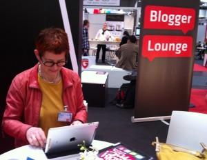 Abelone i Bloggers Lounge