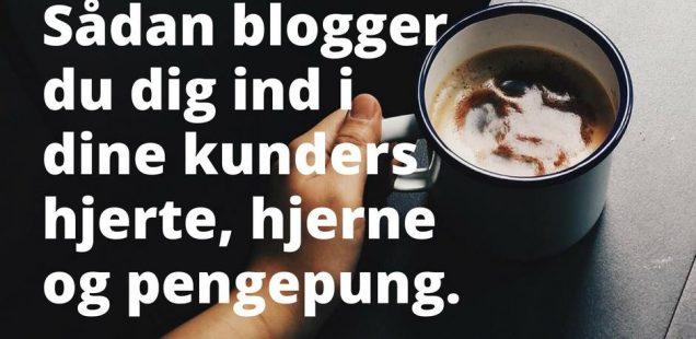 sarah vos trysøe fortæller om blogging fø nytårskuren